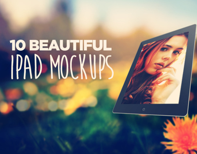 Product: 10 Beautiful Ipad Mockups