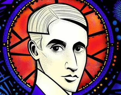 A Harry Clarke Portrait