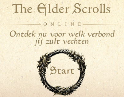 The Elder Scrolls Online Mini Site Ad (January 2014)