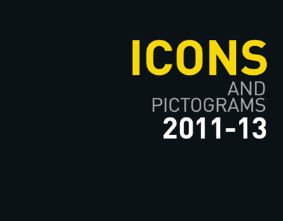 Icons + Pictograms 11-13