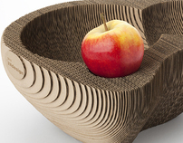 Fruit bowl 128 | cardboard