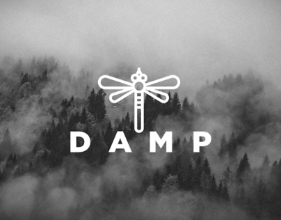 DAMP clothing _ Brand identity