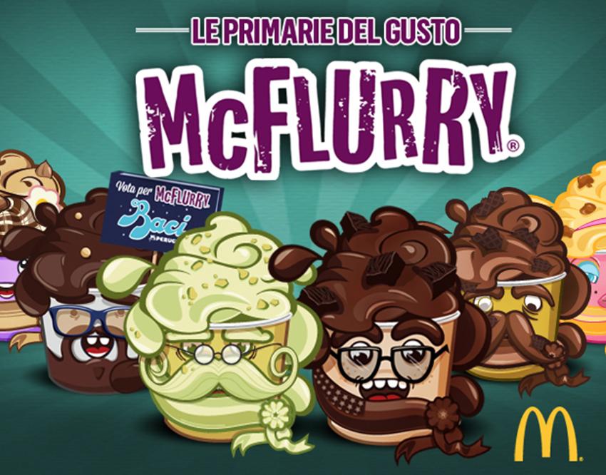 Le primarie del Gusto - McDonalds McFlurry