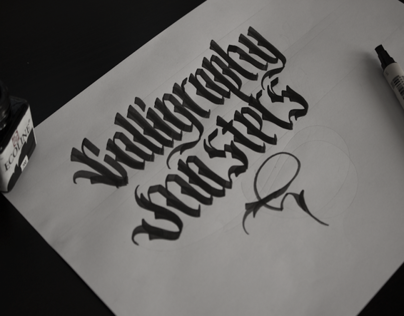 Lettering & Calligraphy 1