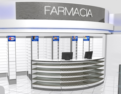 Store Concept for Farmacias Benavides