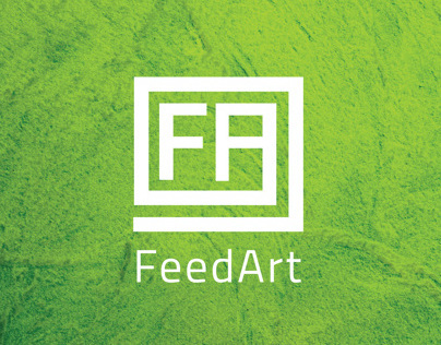 FeedArt Logo Redesign