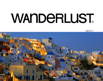 Wanderlust Magazine - Type Collection