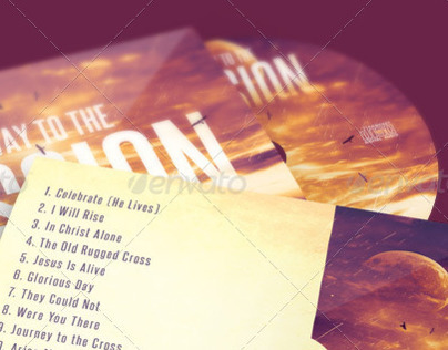Pathway to the Passion CD Artwork Template