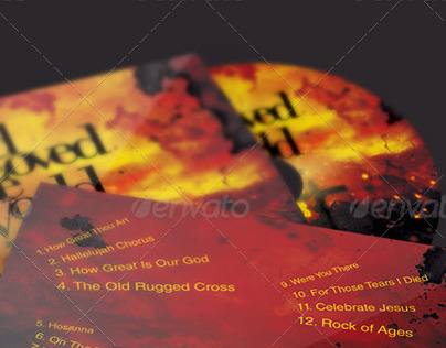God So Loved The World CD Artwork Template