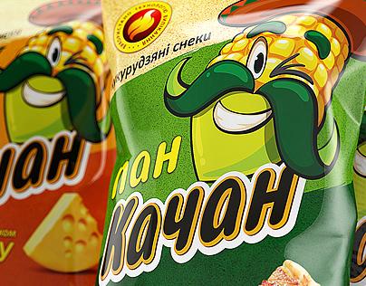 Pan Kachan. Packaging