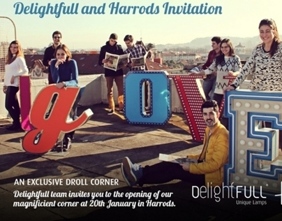 DELIGHTFULL | HARRODS IS HOME