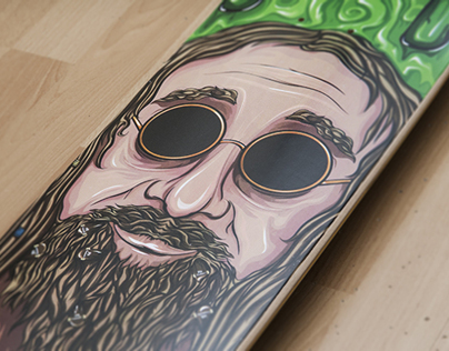 Fourbcollective skateboards