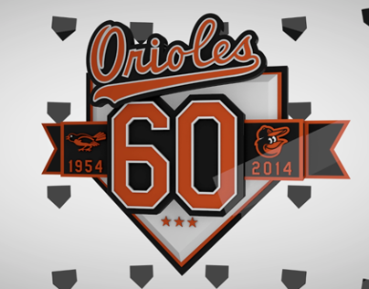 Baltimore Orioles 60th Anniversary