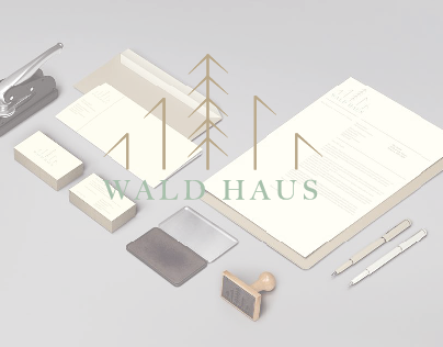 Wald Haus // Luxury Wooden Homes // Branding & Identity