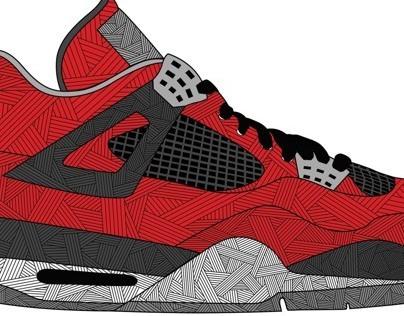 Kiss My Kicks : Jordan 4 Collection