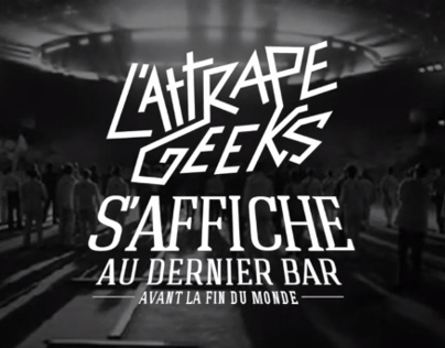 l'Attrape Geeks' first exhibition