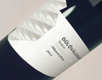 Dűlőválogatás_wine label concept 14