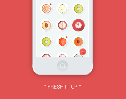 Fresh It Up - App Design