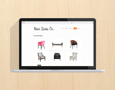 Neat Seats - Web Design