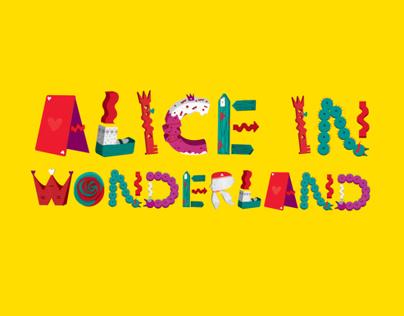 Alice In Wonderland // Typeface