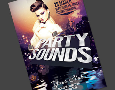 Party Sounds Flyer