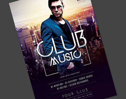 Club Music Flyer