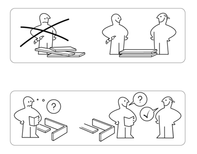Open Days 2014 - Ikea-like Instruction manual