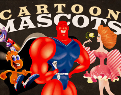Cartoon Mascots Bundle