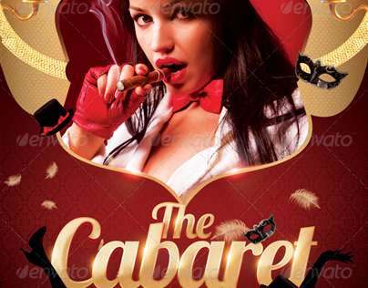 The Cabaret Flyer Template