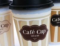 Package design Cafe cup