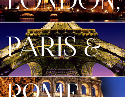 London, Paris, & Rome travel guide