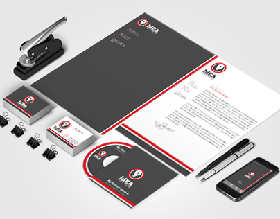 Print Template - Creative Company Corporate Identity
