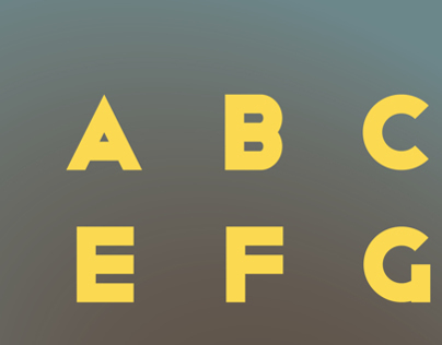 Art Deco Sans Typeface