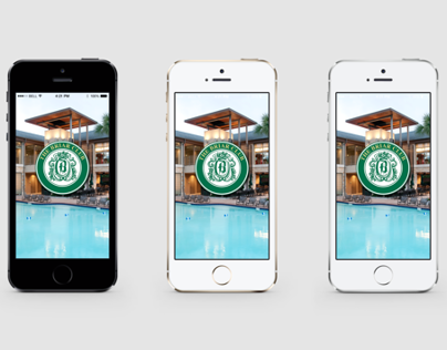 Launch Images & App Icon // Briar Club App
