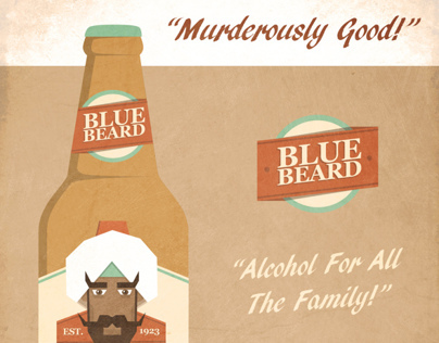 Blue Beard beer advertisment