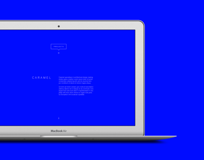 Caramel // Identity/Web Design & Development