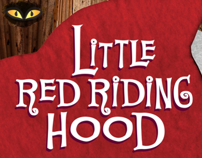 "Book Cover ""Little Red Riding Hood"""