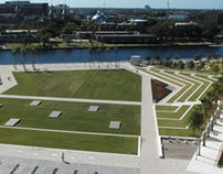 Curtis Hixon Park,courtesy of Thomas Balsley Associates