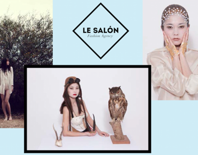 Le SALÓN comp card