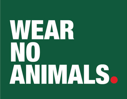WEAR NO ANIMALS