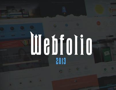 Webfolio 2013