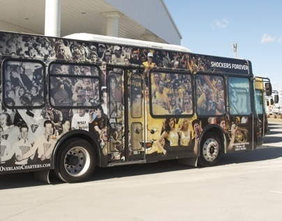 Shocker's Forever Bus Wrap