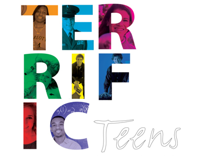 2013 Terrific Teens Editorial Design