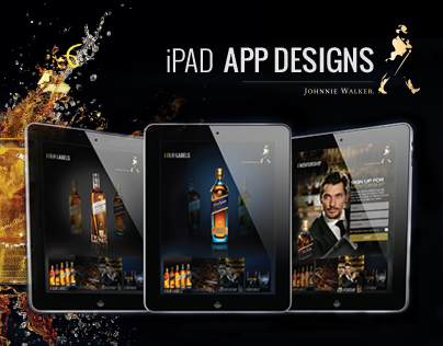 Johnnie Walker iPad App Design Concept