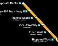 TTC Spadina Subway Extension, Toronto, Canada