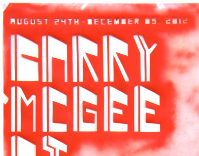 Poster Design: Barry McGee Exhibition