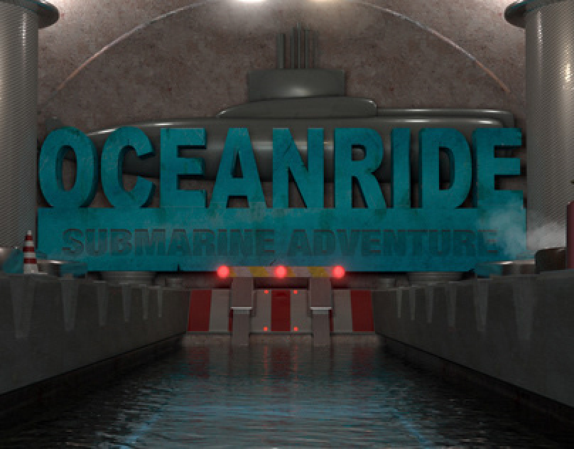 Oceanride 3d SBS 4D XD Cinema Submarine Adventure