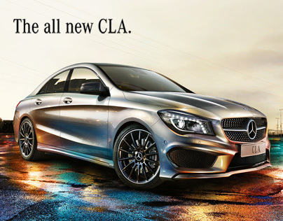 Mercedes - The all new CLA.