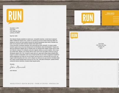 Run Brand Identity