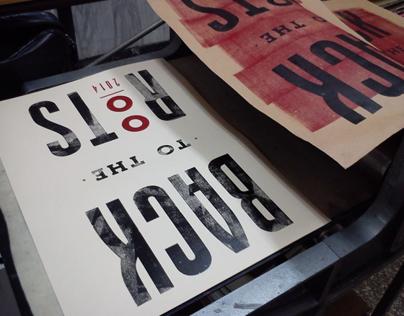 Back to the roots - Letterpress Workshop